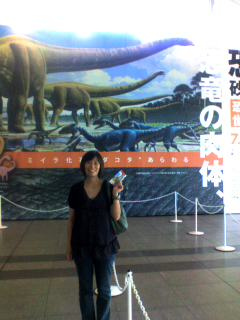■恐竜博2009。マメンキサウルス。
